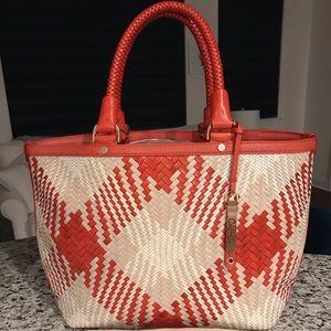 NEW✨SALE✨Cole Haan Genevieve NWT Diamond Weave Bag